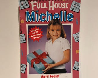 Recycled Vintage Full House Michelle Blank Spiral Notebook