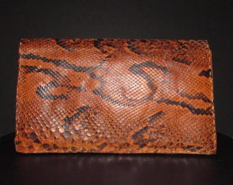 superbe snake skin purse/superbe sac en peaux de serpent
