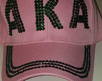 AKA bling hat