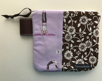 X-Small Yoga Zip Pouch
