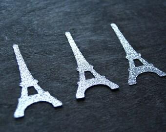 Eiffel tower confetti, 30 pcs, Paris party decorations, Fashion party favor, French party decorations, Table confetti, Paris baby shower