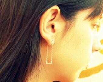 Swing Earrings-sterling silver