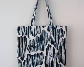 "Printed Tote Bag ""Treethrough"""