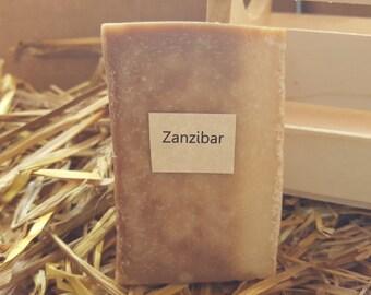 Zanzibar Scented Homemade Goat Milk Soap
