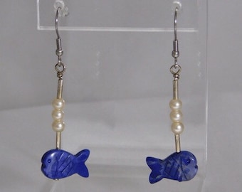 All the Fish in the Sea Earrings