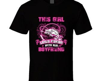 Fishing t-shirt. Fishing tshirt. Fishing tee for him or her. Fishing idea gift as a Fishing gift. A great Fishing t shirt. Fishing girl top