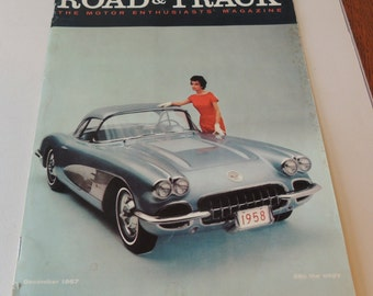 1957 ROAD and TRACK Magazine December Issue