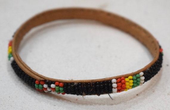 African Bracelets Beaded Colorful Bangles Mali Handmade Men Women Childs Beaded Bracelet