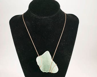 Large Sea Glass Necklace