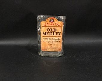 Old Medley Candle Bourbon Whiskey BOTTLE Soy Candle 750ML. Made To Order !!!!!!! Old Medley Whiskey
