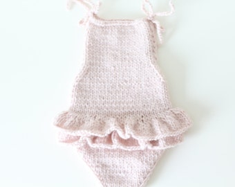 6-9 months - Sitter props - Sitter romper - Baby girl props - Photo props - Sitter girl - Baby photo prop - Sitter baby photo - Soft pink