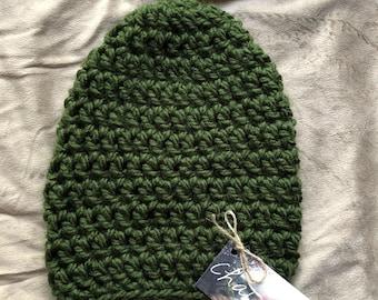 Crochet Beanie (No Pom)