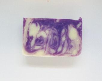 Lavender All Natural Soap, Handmade Soap, Cold Process Soap, Vegan, Bar Soap)