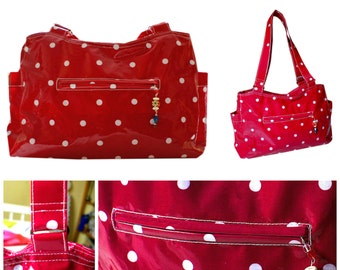 Handbag PDF Sewing Pattern - The Out & About Bag