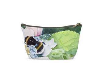 Bee Floral Pouch