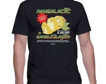 Hitchhikers Guide Geek T-Shirt Pangalactic Gargle Blaster