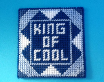 Coaster - King of Cool- Gift idea
