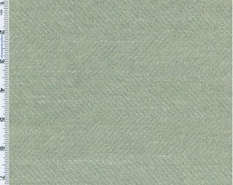 Spa Green Herringbone Home Decorating Fabric, Fabric By The Yard
