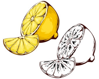 lemon clipart etsy rh etsy com lemon clip art border lemon clip art black and white