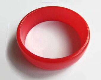 Vintage bracelet, vintage orange bracelet, orange bracelet, lucite orange bracelet, acrylate bracelet, bracelet, women bracelet, women.