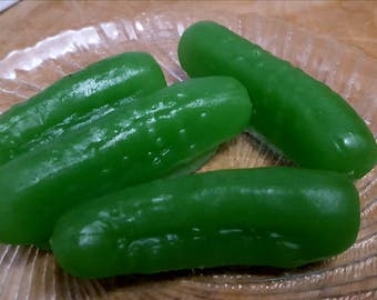 Eugene's Gifted Pickles Soap - Walking Dead - Pickle Soap - Novelty - Food Soap - Fake Food