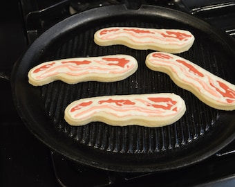 Bacon Strip Cookies