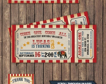 Circus invitation etsy best selling items stopboris Images