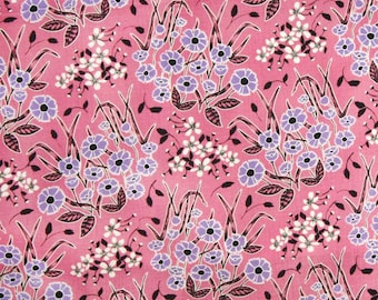 Homestead Wildflower pink Juliana Horner Fabric Traditions  Fat Quarter or more