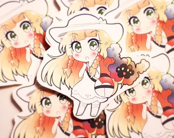 Pokemon Sun Moon Lillie Sticker