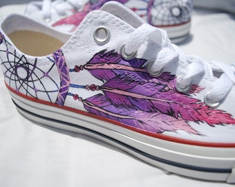 Dreamcatcher Shoes - Hand Painted