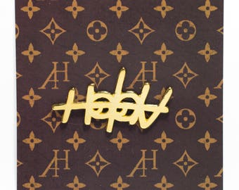 Allways Holdn Logo Pin Gold Edition