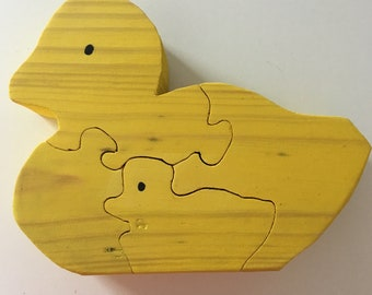 Yellow Duck Puzzle