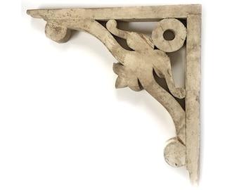 Antique 18 x 18 Victorian Corbels Brackets - Architectural Salvage - Last One
