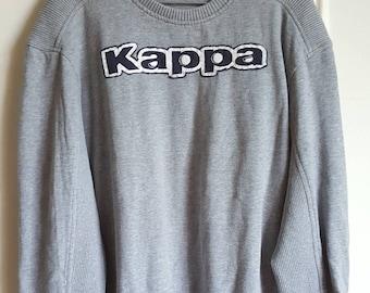 Kappa Vintage early 90-00 85% cotton Sweatshirt size L (L/XL).