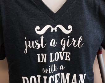 Just A Girl In Love With A Policeman