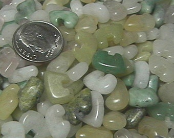 8mm x 12 Mixed Stone Zuni Bear Beads (20)