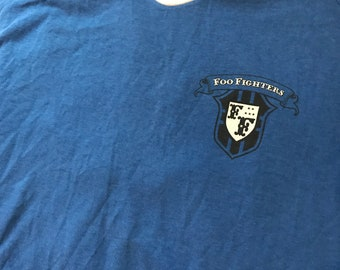 Foo Fighters football jersey style ringer shirt