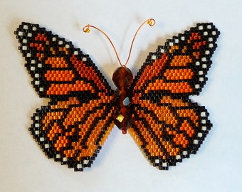 Monarch Butterfly PDF Pattern and Tutorial