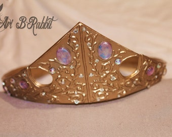 Disney Aurora Princess Gold Crown Disneyland from Sleeping beauty[for christmas,present,cosplay,children etc]
