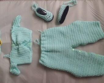 Crochet Princess Jasmine Outfit