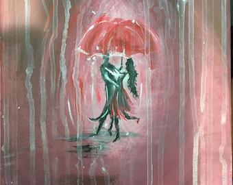 Rain dance reflection
