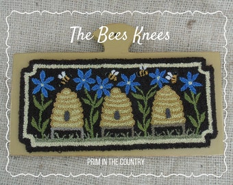 The Bee's Knees Punch Needle Pattern