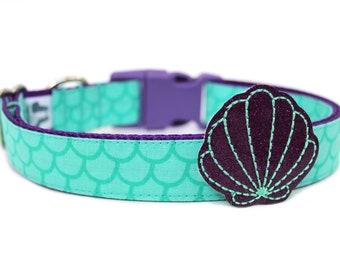 Mermaid Shell Dog Accessory Dog Collar Add-on *No Collar Included*