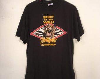 Vintage 90's Ted Nugent Spirit of the Wild Tour Shirt L/XL