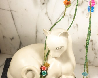 Spring Flowers!!! Necklace, Bracelet & Earrings Set