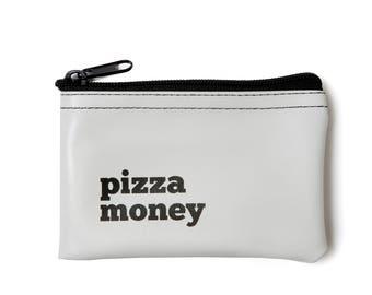 Pizza Money Zip Tote