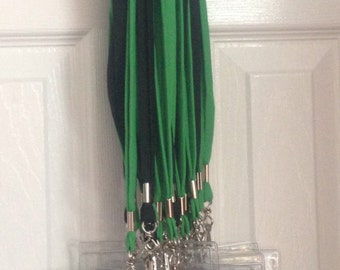 IWG blitz card lanyard and plasic blitz card holder. Boost your business! Blitz cards not included. Available in green or black.