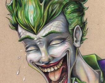 The Joker ORIGINAL drawing