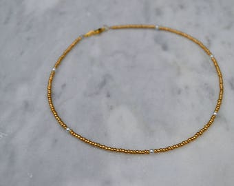 Everyday Delicate Gold Choker Necklace