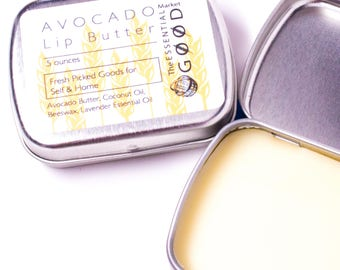 Lip Butter | Lip Balm, Natural Lip Balm, Chapstick, Coconut Oil, Lip Condition, Gifts for Her, Gifts for Friends